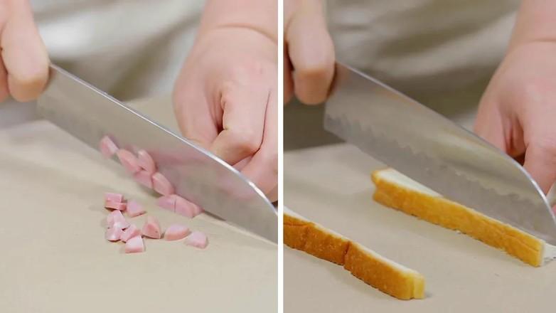 玉米奶酪三明治【宝宝辅食】的步骤