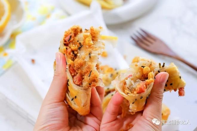 肉松脆脆饼【宝宝辅食】成品图