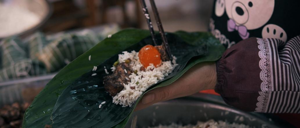 年味食足:裹粽子的做法图解