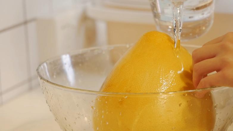 蜂蜜柚子茶【初味日记】的做法图解