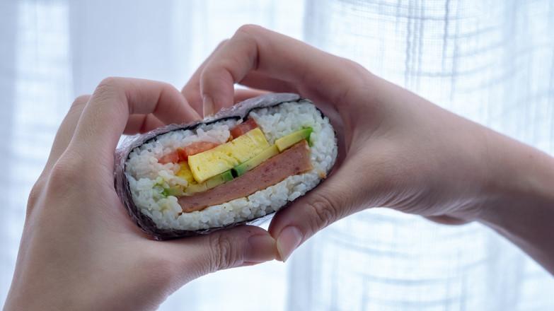 饭团三明治【初味日记】成品图