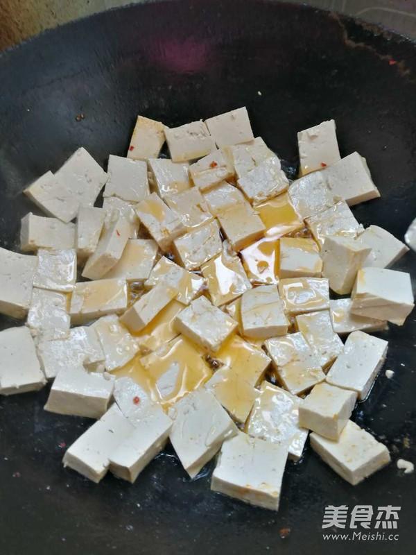 大葱烧豆腐的做法图解