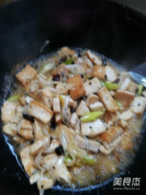大葱烧豆腐怎么做