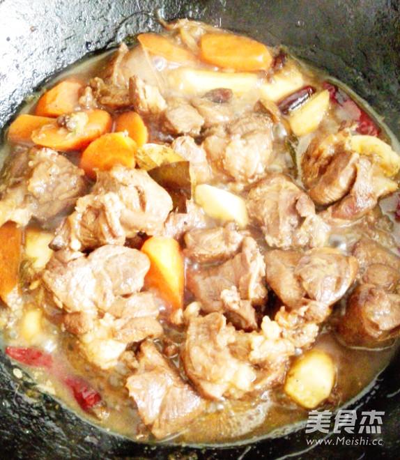 香辣炖羊肉怎样炒