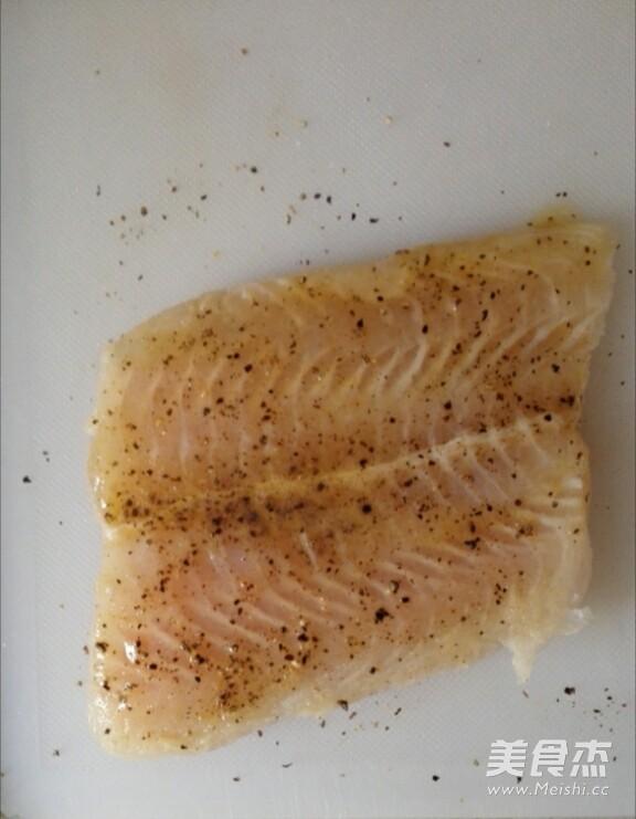 法式香煎龙利鱼的做法图解