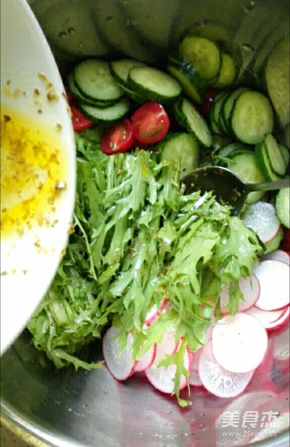 清新蔬菜沙拉怎么煸