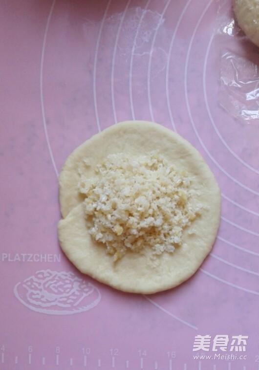 奶油蝴蝶结椰蓉面包怎么做