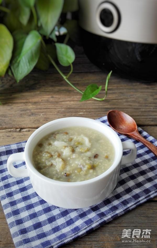 百合绿豆小米粥怎么吃
