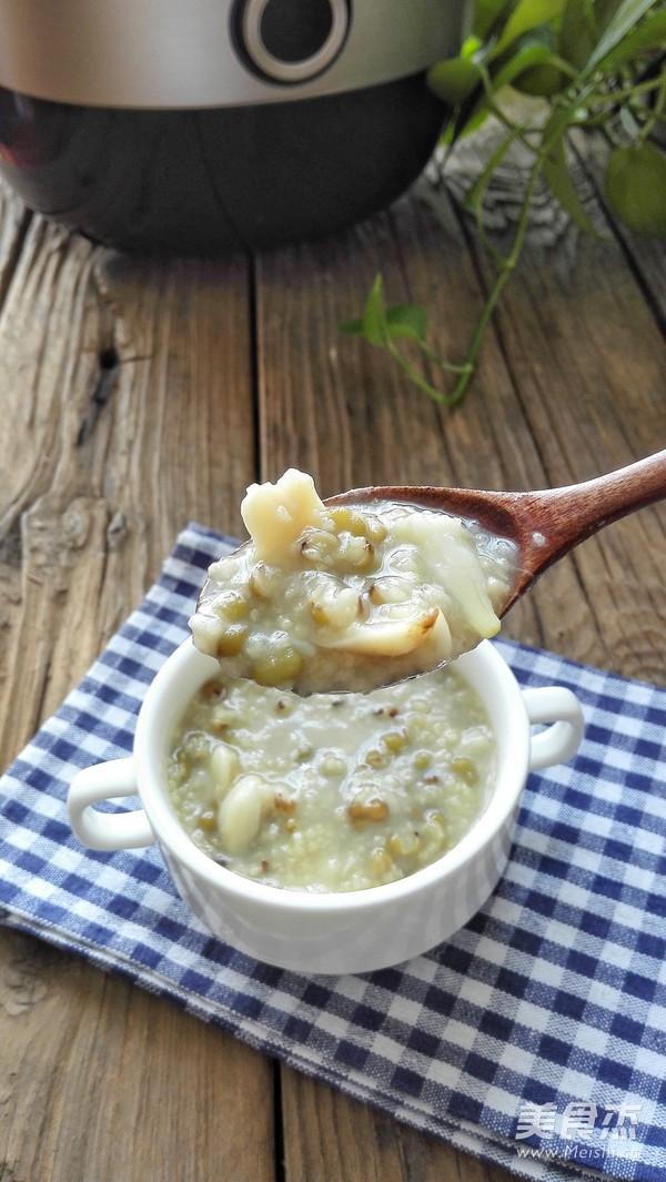百合绿豆小米粥怎么做