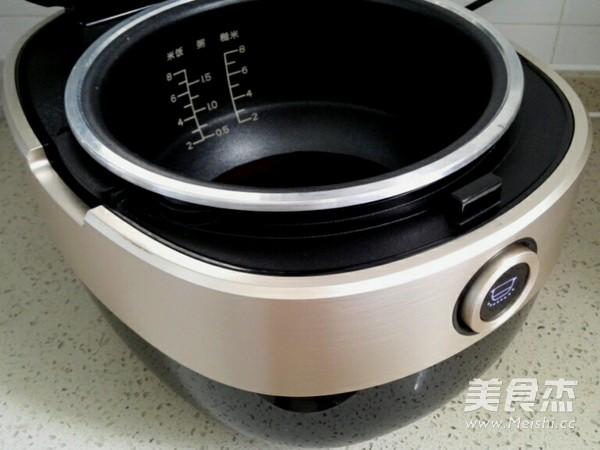 香菇腊肉黑米饭(附如何挑选和鉴别黑米)的家常做法