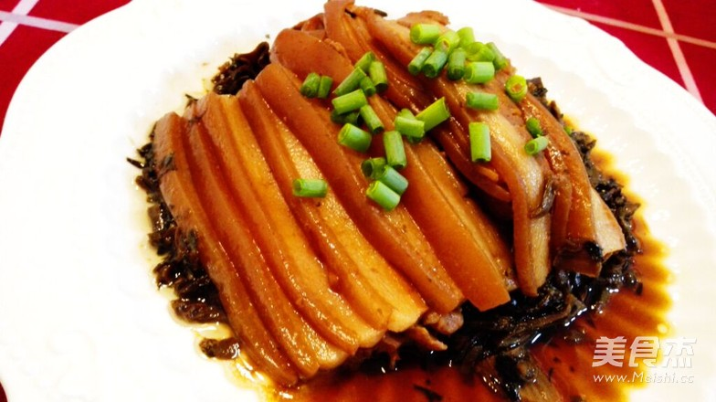 梅菜扣肉-春节家宴必备硬菜怎么煸