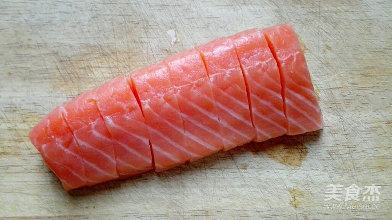 香煎三文鱼的做法图解