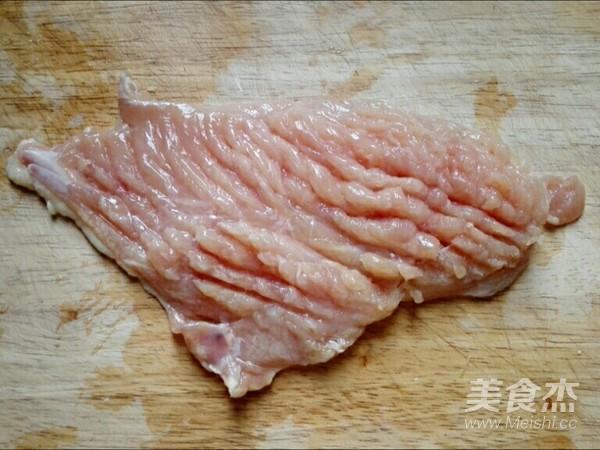 香煎鸡胸肉的做法图解