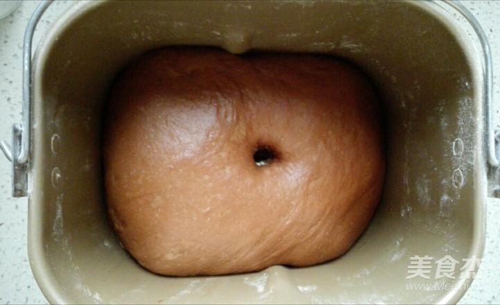 可可麻糬核仁蜜豆软欧怎么吃