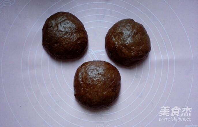 可可麻糬核仁蜜豆软欧怎么做