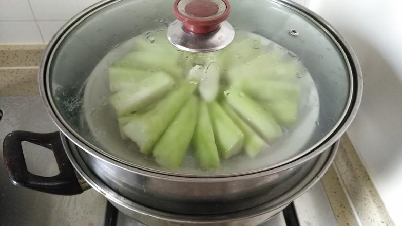 蒜蓉粉丝蒸丝瓜怎么吃
