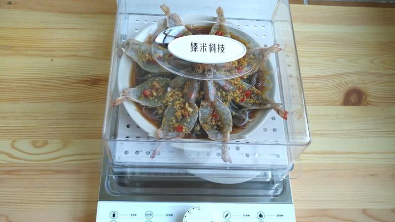 蒜蓉粉丝蒸虾怎么炒