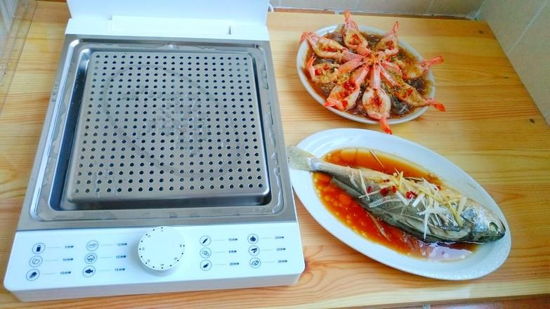 蒜蓉粉丝蒸虾怎样做
