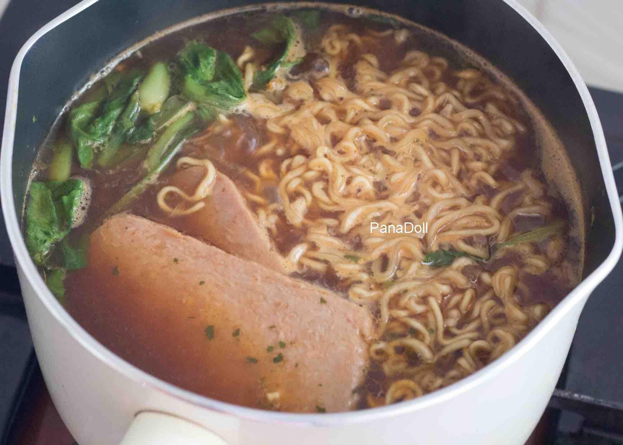 这锅芝士面有肉有菜有主食,大满足!的家常做法