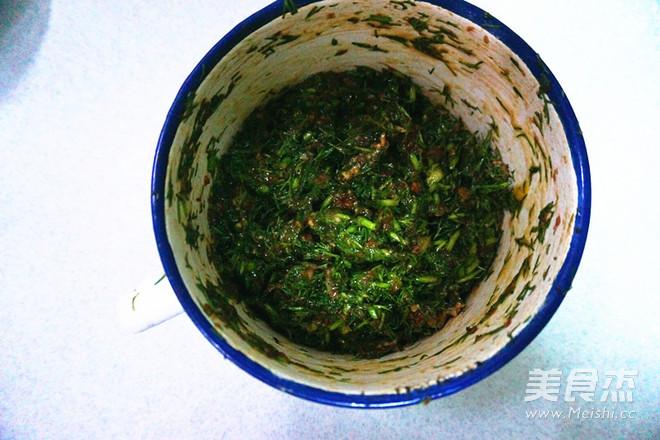 双色茴香猪肉饺的家常做法