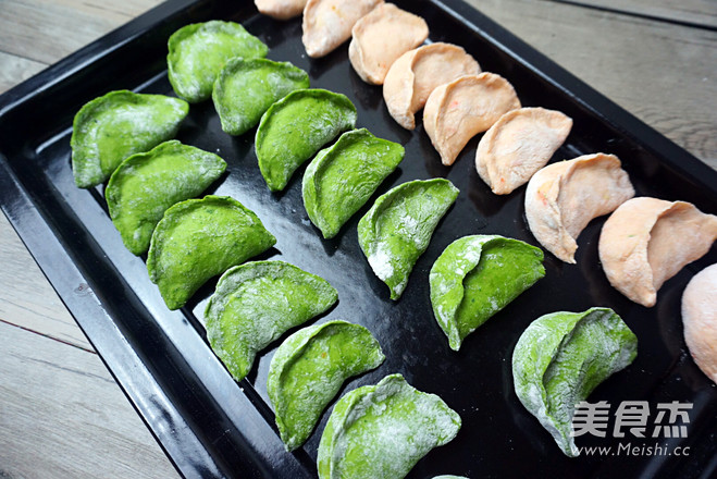 双色茴香猪肉饺怎么吃
