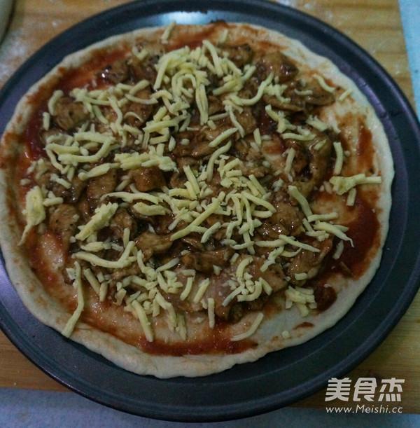黑胡椒鸡肉披萨怎么炒
