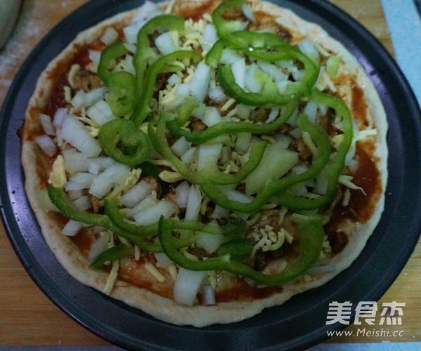 黑胡椒鸡肉披萨怎么煮