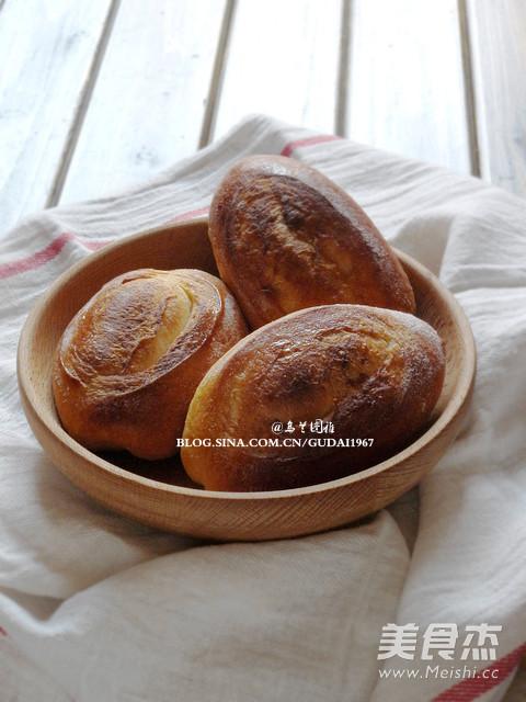 罗宋甜面包成品图