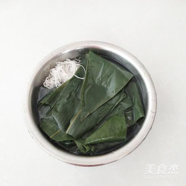 鲜肉糯米粽子的家常做法