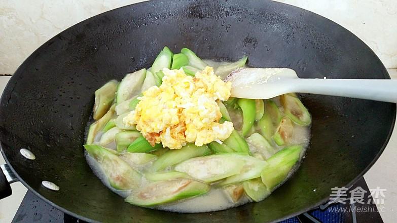 丝瓜炒鸡蛋怎么炖