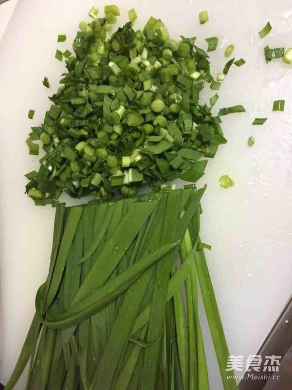 韭菜包子的做法图解