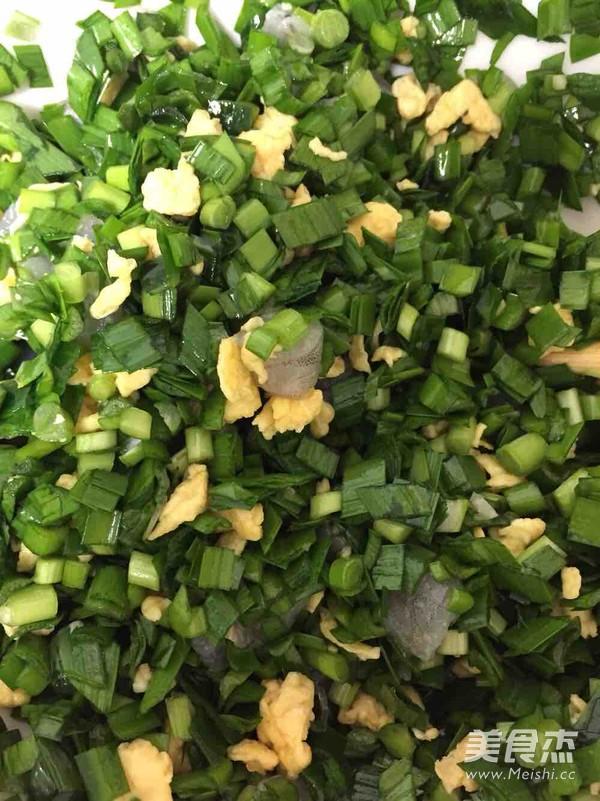 韭菜包子的简单做法
