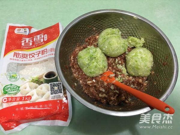 香雪面粉蒸烫面猪肉白菜大饺子怎么炒