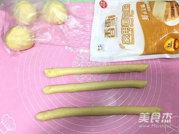 香雪面粉南瓜辫子面包怎么做