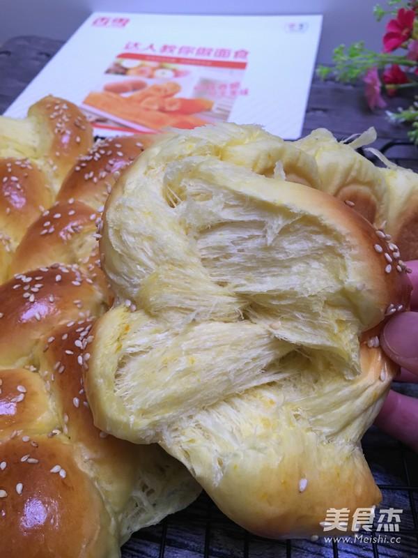香雪面粉南瓜辫子面包怎样煸