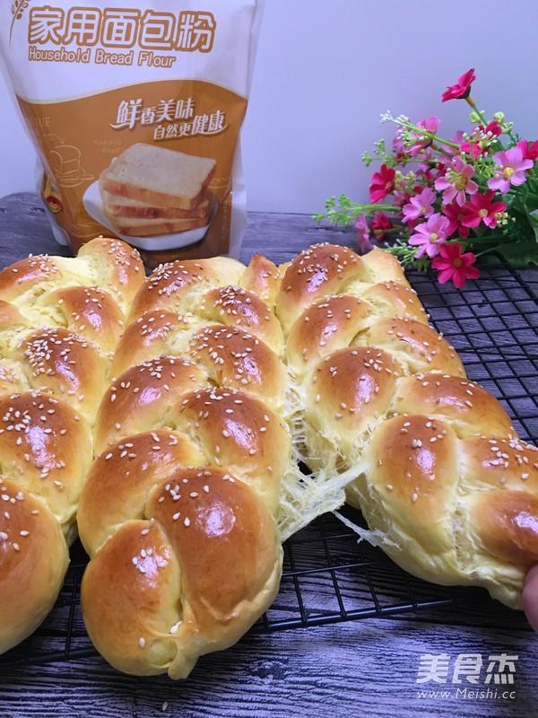 香雪面粉南瓜辫子面包怎么煸
