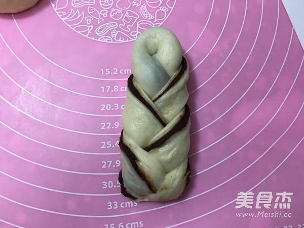 豆沙馅辫子面包(汤种法)怎么煸