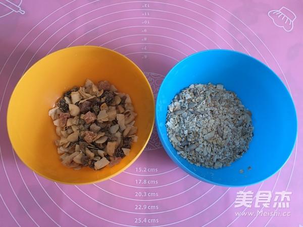水果燕麦面包(汤种法)的简单做法