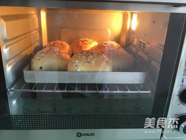 水果燕麦面包(汤种法)的制作