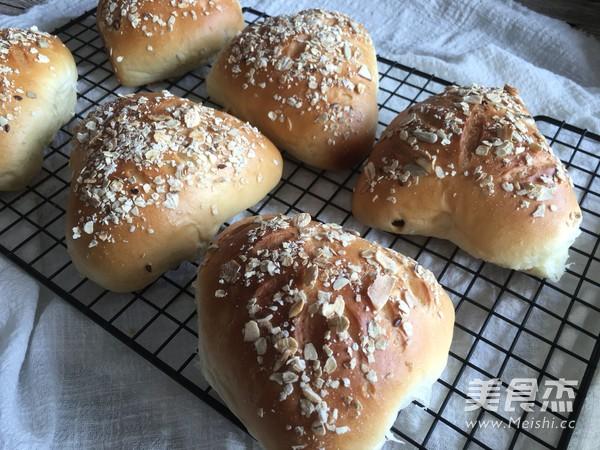 水果燕麦面包(汤种法)的制作大全