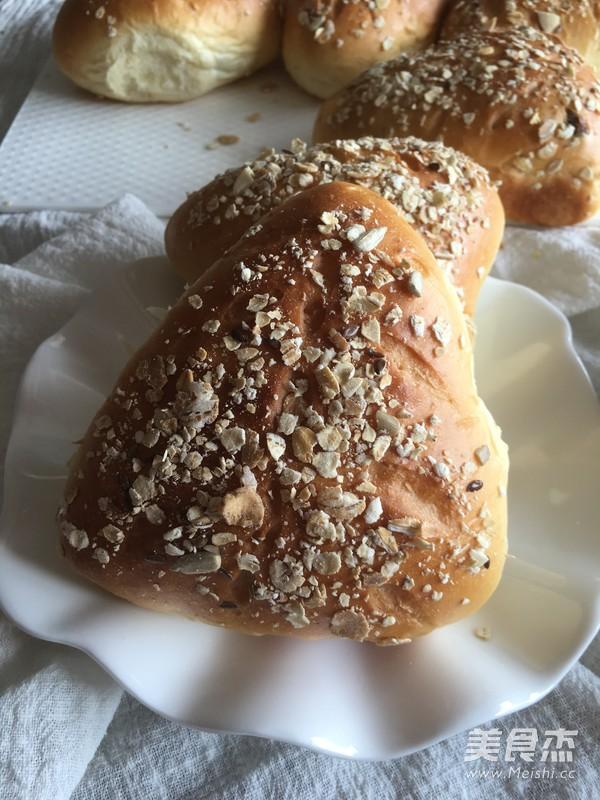 水果燕麦面包(汤种法)的做法大全