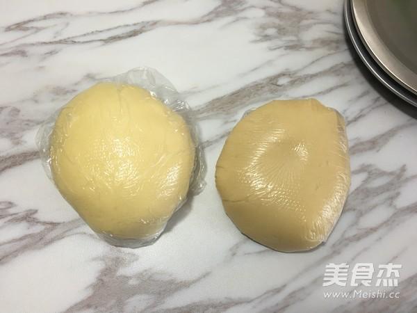 蛋黄酥(黄油+玉米油版)的做法图解