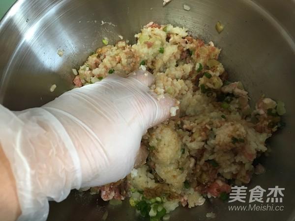 糯米肉丸子的家常做法