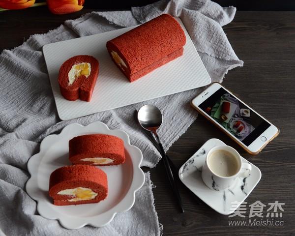 红丝绒蛋糕卷的做法大全