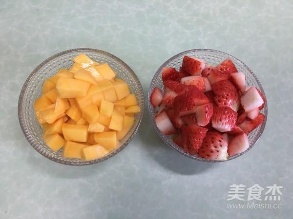 水果盒子蛋糕的制作方法