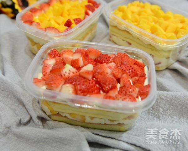 水果盒子蛋糕的做法大全