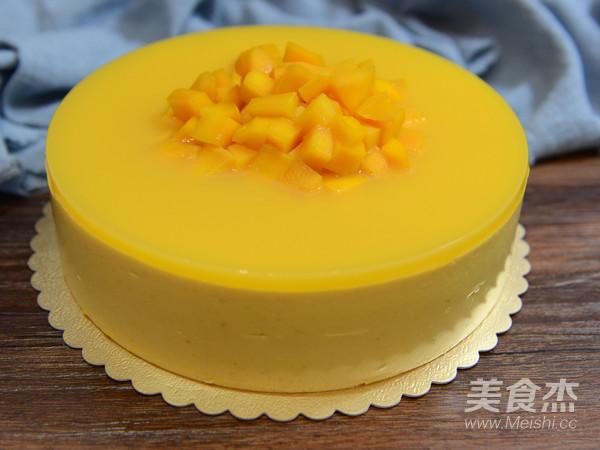 8寸芒果慕斯蛋糕的制作方法