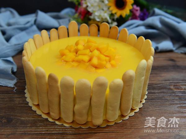 8寸芒果慕斯蛋糕的制作大全