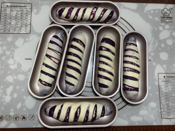 紫薯面包卷的制作