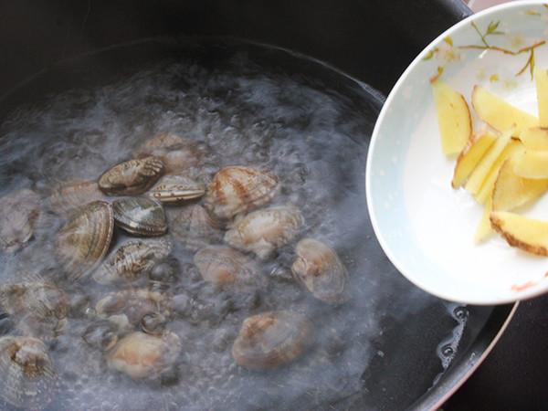 蛤蜊蒸蛋的做法大全